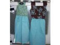 Set of Dish Towel Dress for Stove Handmade