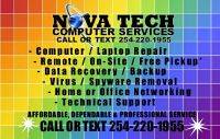 PC OR LAPTOP REPAIR, FREE PICK-UP, DELIVERY  DIAGNOSTIC 254-220-1955  (KILLEEN, COPPERAS COVE AND BELTON)