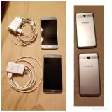 Samsung Galaxy J3 Emerge and Charger