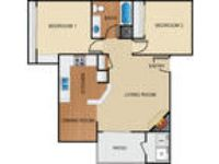Apartment in prime location. $800/mo