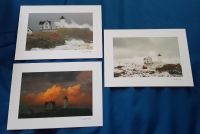 3 Beautiful Postcards Lighthouse Nubble Light Maine by Donald Verger