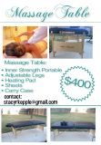 $400, Massage Table for Sale