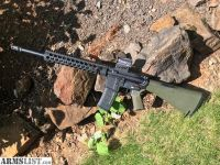 "For Sale: Aero Precision 16"" AR 15 Carbine Optics Ready with Troy Alpha rail, Magpul grip, A2 Stock"