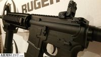 For Sale: Ruger AR15 AR556 QUAD RAIL ar15 Rifle Semi Auto