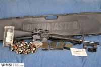 "For Sale: Bushmaster XM15-ES2 AR15 Scope Mount 20"" Stainless Barrel + Ammo"