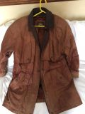 Wilson Brown Leather Jacket (Large)