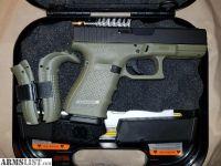 For Sale: Battlefield Green Glock 19 gen 4
