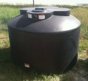 600 Gallon Water Storage  Rain harvesting Tank