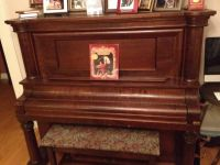 Beautiful antique upright piano