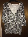 Maurice s leopard sweater size 2