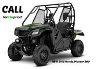 2018 Honda Pioneer 500 Side x Side Utility Vehicles Erie, PA