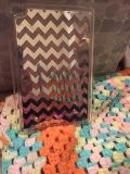 New in package.. never used..Apple iPad mini 4 chevron glittery case