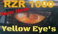 Purchase POLARIS RZR 1000 Yellow eyes Head Light Cover's New Item 2015 RZR 900 motorcycle in Medina, Ohio, United States, for US $18.00
