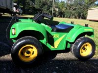 John Deere - Sit N Scoot Buck with Lights and Sounds Toddlers 4 wheeler