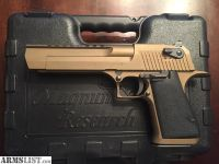 For Sale: Magnum Research Desert Eagle, 44 Magnum, Bronze