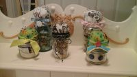 Pin Cushion/Sewing Supplies Mason Jars