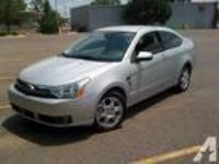 2008 Ford Focus SES Coupe-Loaded,5-Speed,SYNC, 34mpg, Exc Condition
