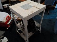 Bench press drill table with extension cord nice heavy.