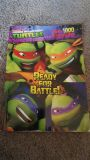 Tmnt book with 1000 stickers