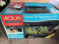 10 Gal Aquarium with everything you need like New!!!