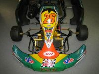 Buy Merlin MR30 Go Kart with Source racing engine Yamaha KT100 Very nice stuff motorcycle in Oconomowoc, Wisconsin, US, for US $2,495.00