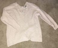 Off white knit sweater size 3x $10