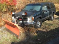 1996 CHEVROLET-GMC K2500 4X4 WITH CURTIS SNOPRO 2000 7.5FT SNOW PLOW SNOW REMOVAL EQUIP