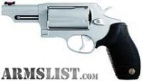 "For Sale: Taurus Judge 3"" Chamber 45LC/410GA Revolver - Stainless Steel"