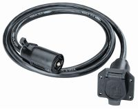 Sell Tow Ready 118664 Trailer Wire Connector Extension 7-Way Connector 7 ft. motorcycle in Naples, Florida, US, for US $57.99