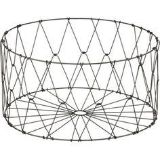 CB2 Metal Collapsable Laundry Basket