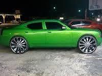 "Find 28""Chrome Wheels Bentchi B15 Dodge Challenger Donks 5x115 Brembos motorcycle in Victorville, California, US, for US $2,575.00"