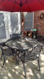 $750, Cast Aluminum Patio Set