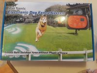 Double electric dog fence