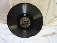 "Antique bing crosby can i forget you 78 rpm record etched album 10"" double sided"