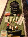 makeup misc lot, with a thirty one snap tote.