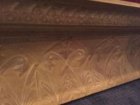 Beautiful antique shelf. 4 w x 16.25 H. (See additional pictures)