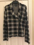 Ladies Chaps Sweater with zipper