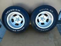 Find 15x10 U.S.Indy Slot Mag Wheels Rims Chevy Delta 60 Trans-AM Tires Vintage NOS motorcycle in Sunnyvale, California, US, for US $1,000.00