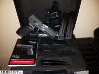 For Sale/Trade: SigSauer P320 w/Apex flatty