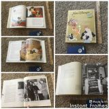 Thick, hard cover, Disney Classic Stories Book with behind the scenes photos and information on the movies too. $3.00 some wear