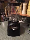 Osterizer blender with glass pitcher
