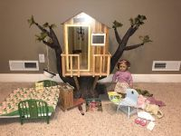 American Girl Doll ,Kit with Tree House and accessories shown