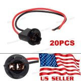Buy 20x T10 194 168 13mm Hole Extension Connector Wiring Harness Dash Panel Light motorcycle in Milpitas, California, United States