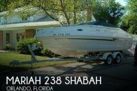 1999 Mariah 238 Shabah