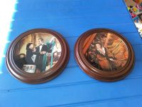 Gone with the wind collectable plates in wooden FRAME.
