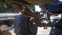 Sell Rear Axle Ford F350 2nd Gen Sterling 10.25 Ring Gear 3.55 Ratio 120,000 Miles motorcycle in Zillah, Washington, US, for US $0.99