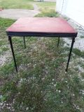 Table*Fold Up*Vintage*Heavy Duty*Ex Condition*Camping