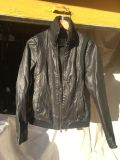 Leather Moto Jacket / High Fashion