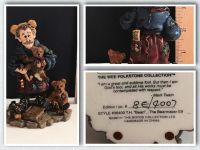 """Boyds Bears & Friends Statue Collection #8/4007 - MINT- 4.25"""" Tall"""