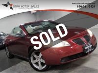 2009 Pontiac G6 2dr Convertible GT w/1SB